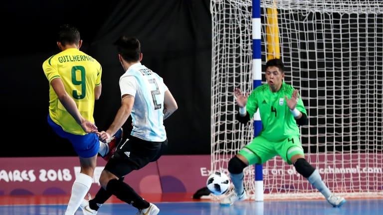 Los dos rivales sudamericanos disfrutaron de un juego fantástico 900a0d5144f25