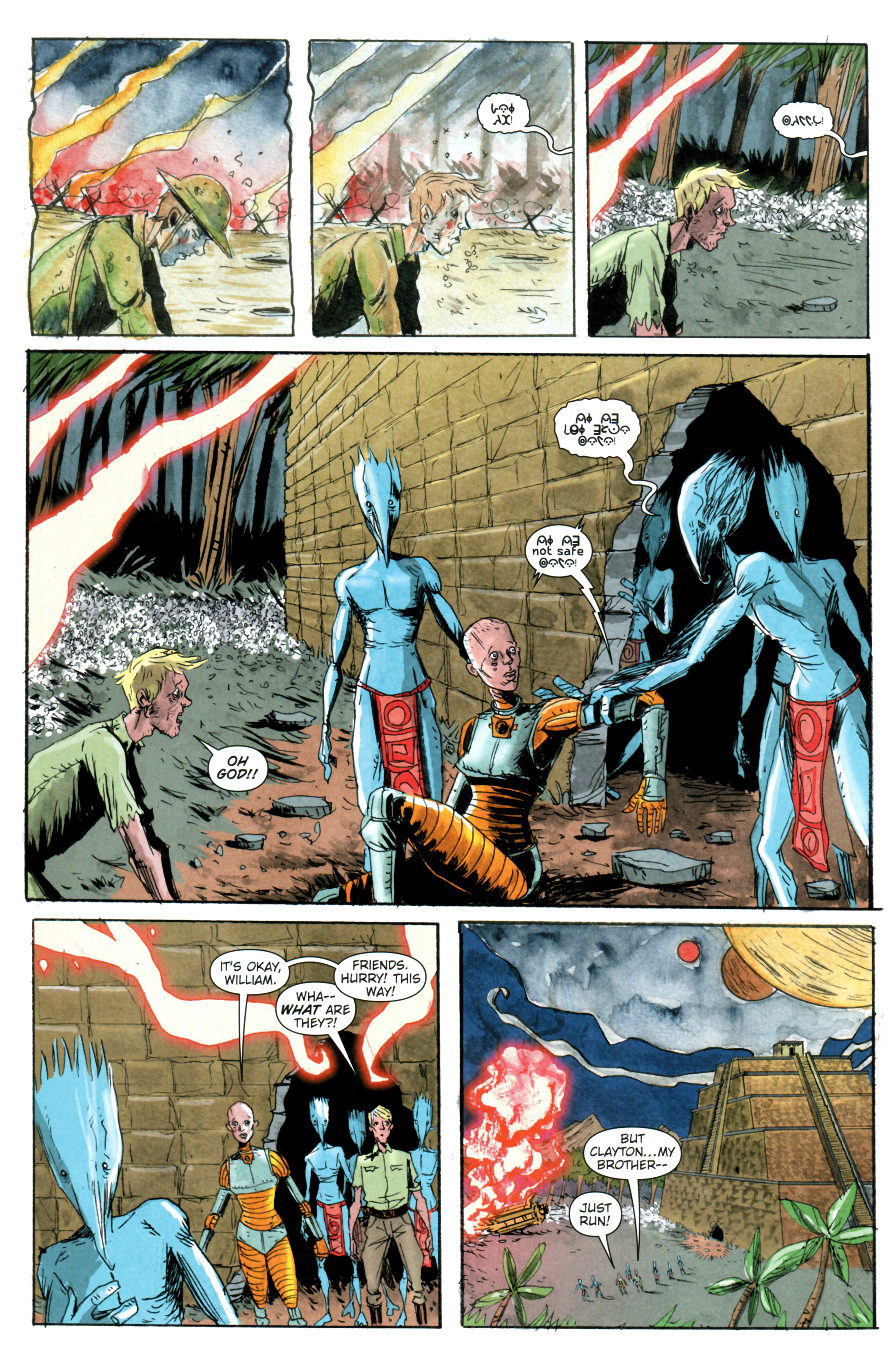 Read online Trillium comic -  Issue #4 - 3