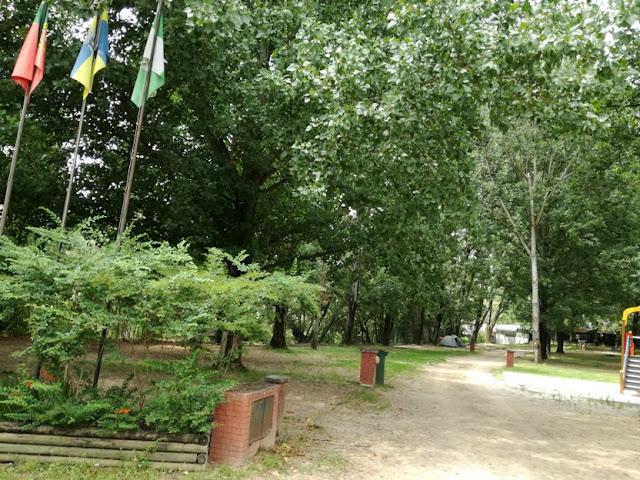 Parque de campismo de Serpins - Zona de Sombra