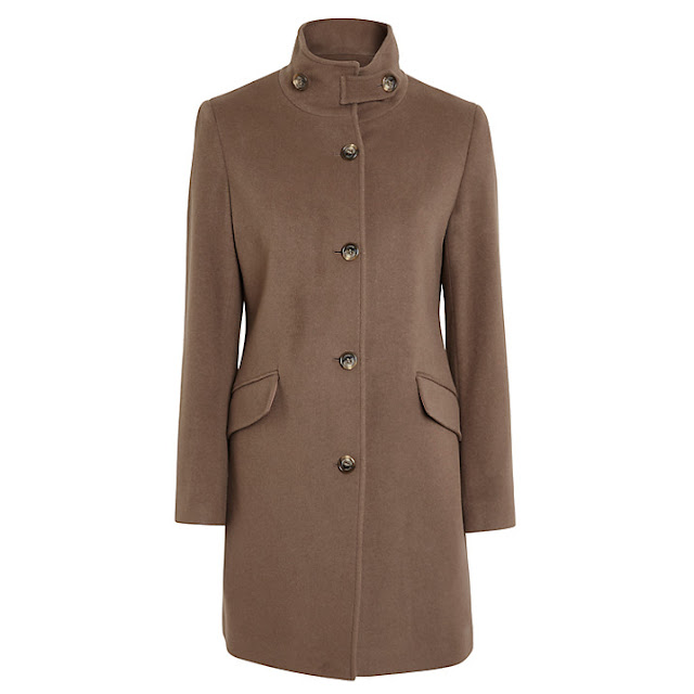 ralph lauren buckle neck coat, ralph lauren women camel coat,