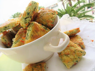 Scones with chives