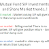 Mutual Fund SIP Investments and Share Market trends..!