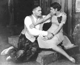 Todd Duncan and Anne Brown as Porgy and Bess