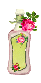 beauty rose bottle blank label image