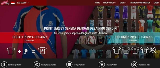 Memilih Lapak Bikin Jersey Sepeda Tepat dan Berkualitas
