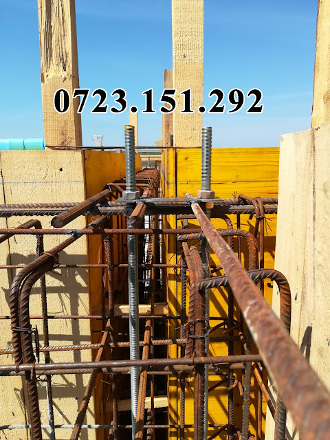 Cofraje Doka  Fundatie, elevatie, pardoseala elicopterizata pt hala cu structura metalica 600m exacutata cu cofraje #Doka