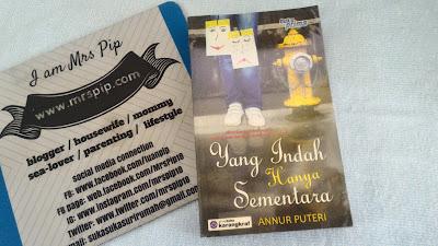 Review Novel: Yang Indah Hanya Sementara (by Annur Puteri)
