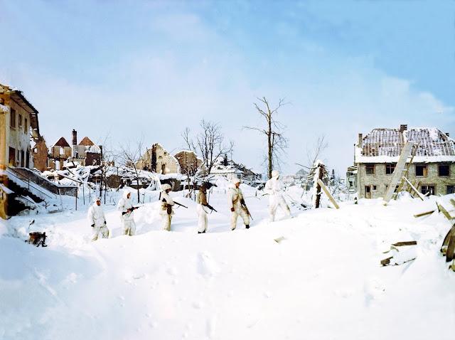 Ski troops Color photos World War II worldwartwo.filminspector.com