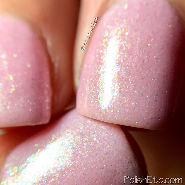 Road To Polish Con - Week 8 - McPolish - Cupid is a Knavish Lad by Poetry Cowgirl Nail Polish