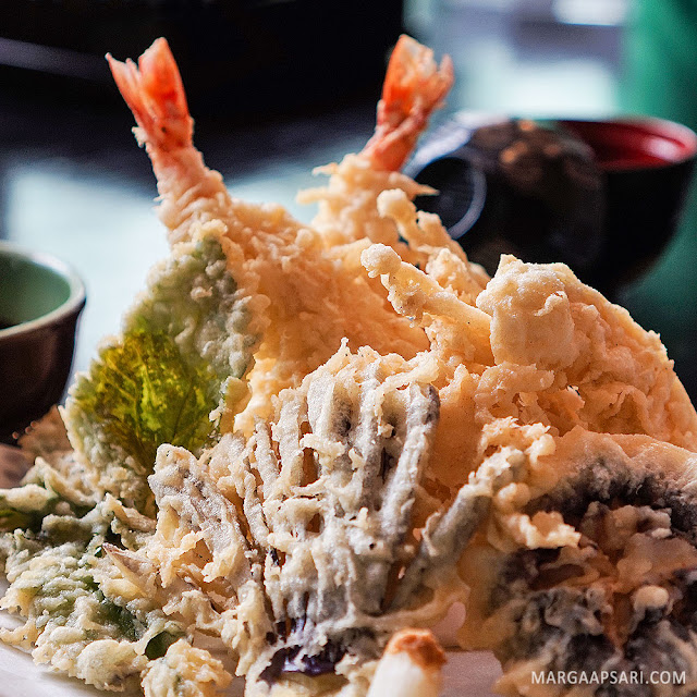 Tempura Moriawase Sushi Nobu (Shabu Nobu)
