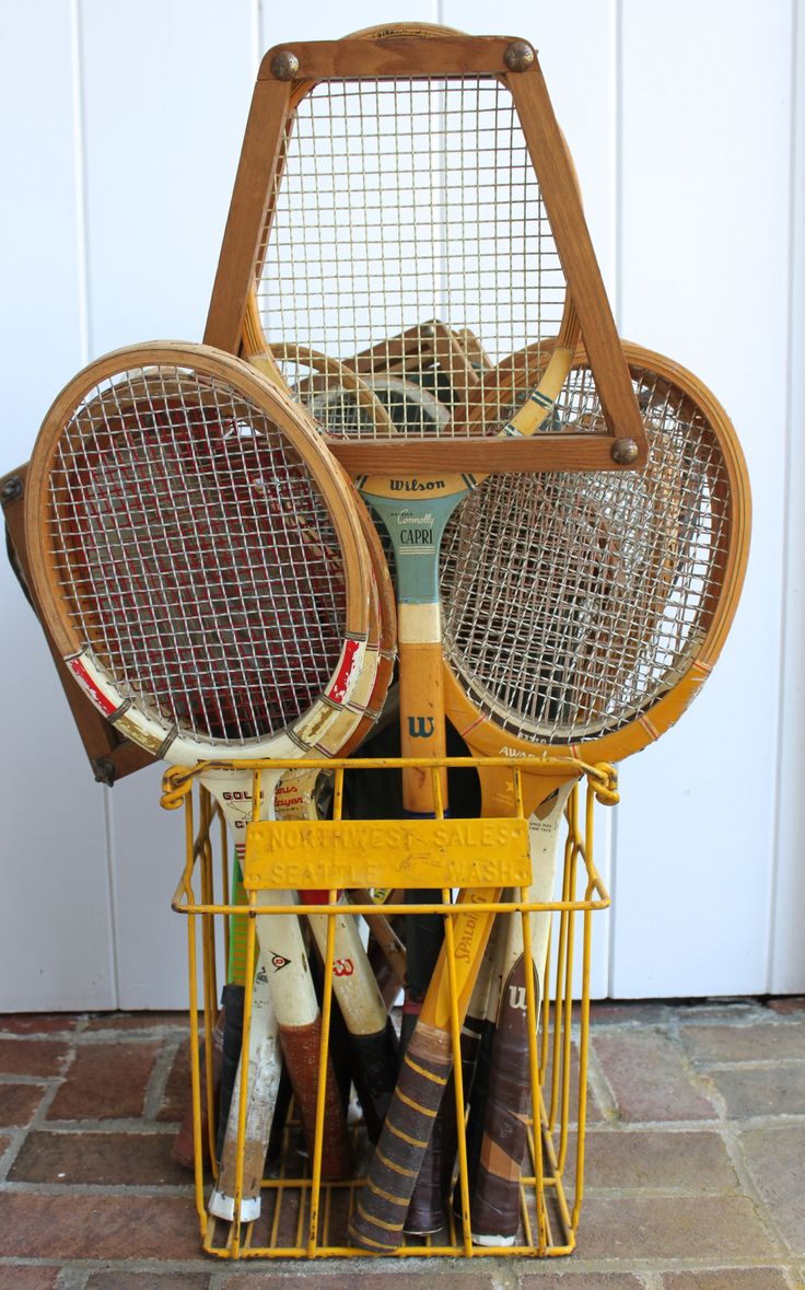 Decorating With Vintage Tennis Rackets Driven By Decor