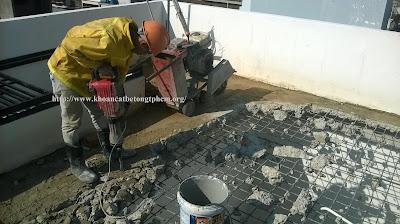 Khoan cắt bê tông tại Hậu Giang 2