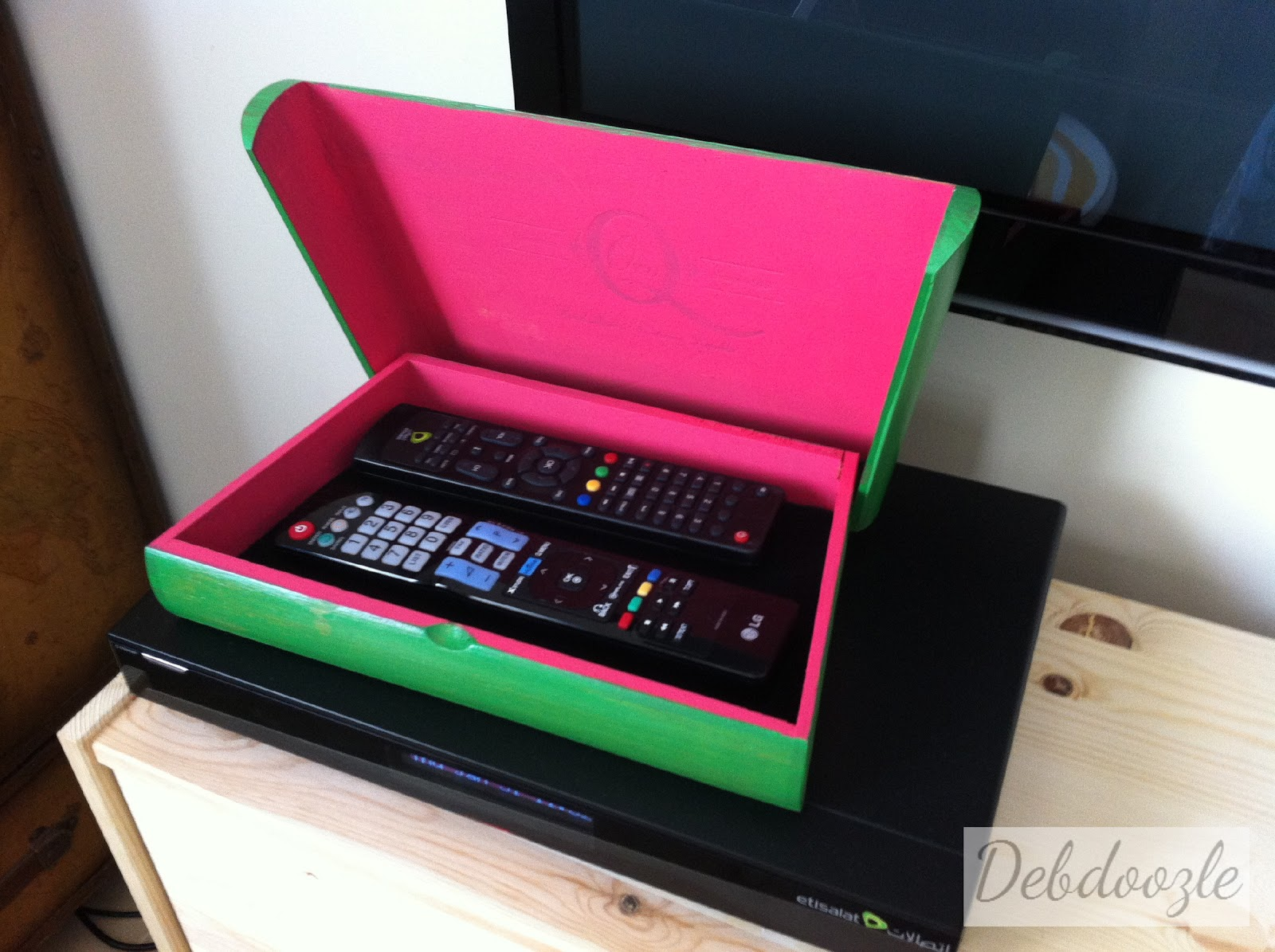 Remote Control Storage Box