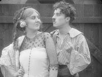 """Эдна Первайэнс и Чарли Чаплин в к/ф """"Пародия на Кармен"""" / Burlesque on Carmen (1916) - 14"""