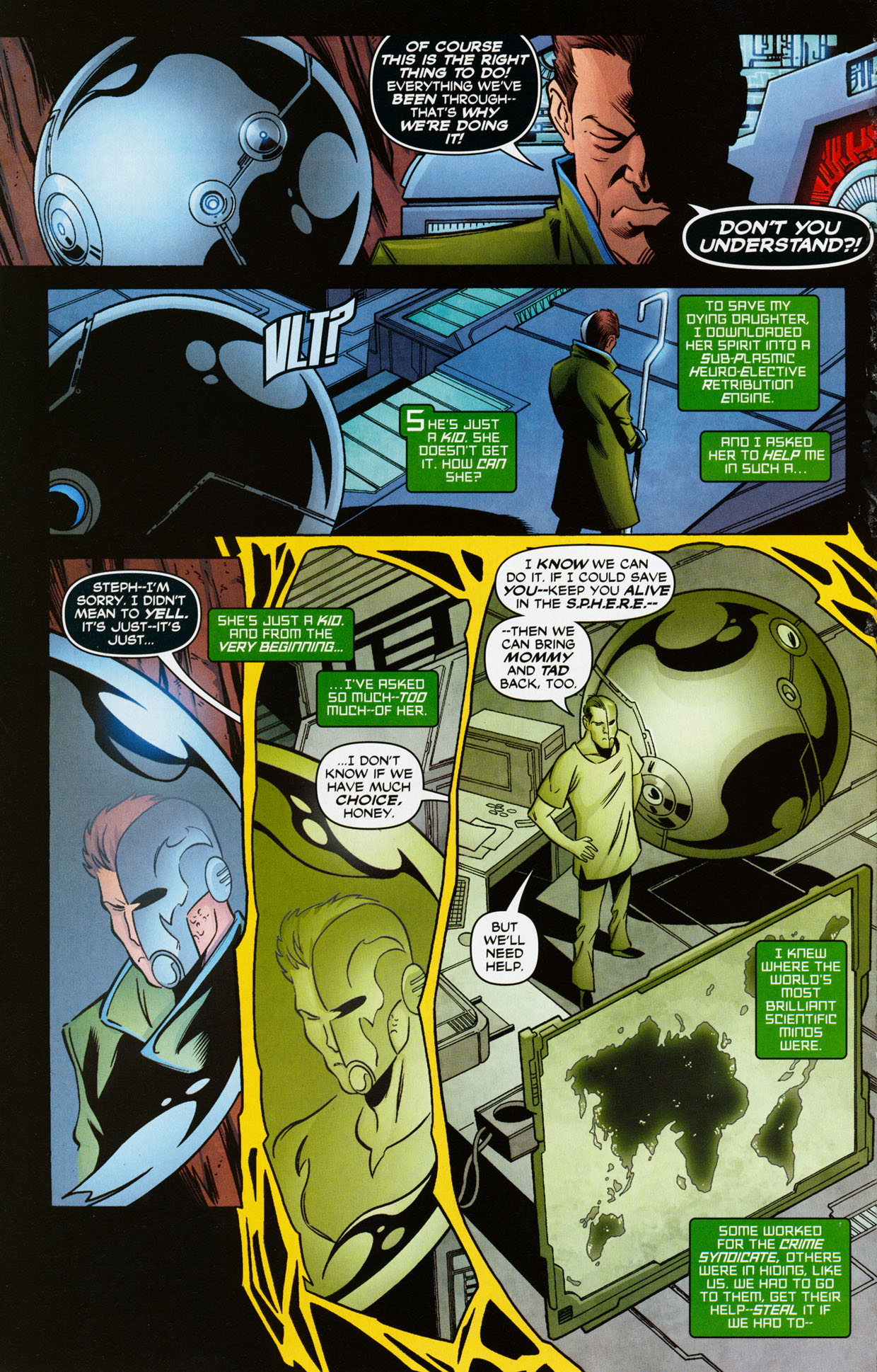 Read online Trinity (2008) comic -  Issue #35 - 7
