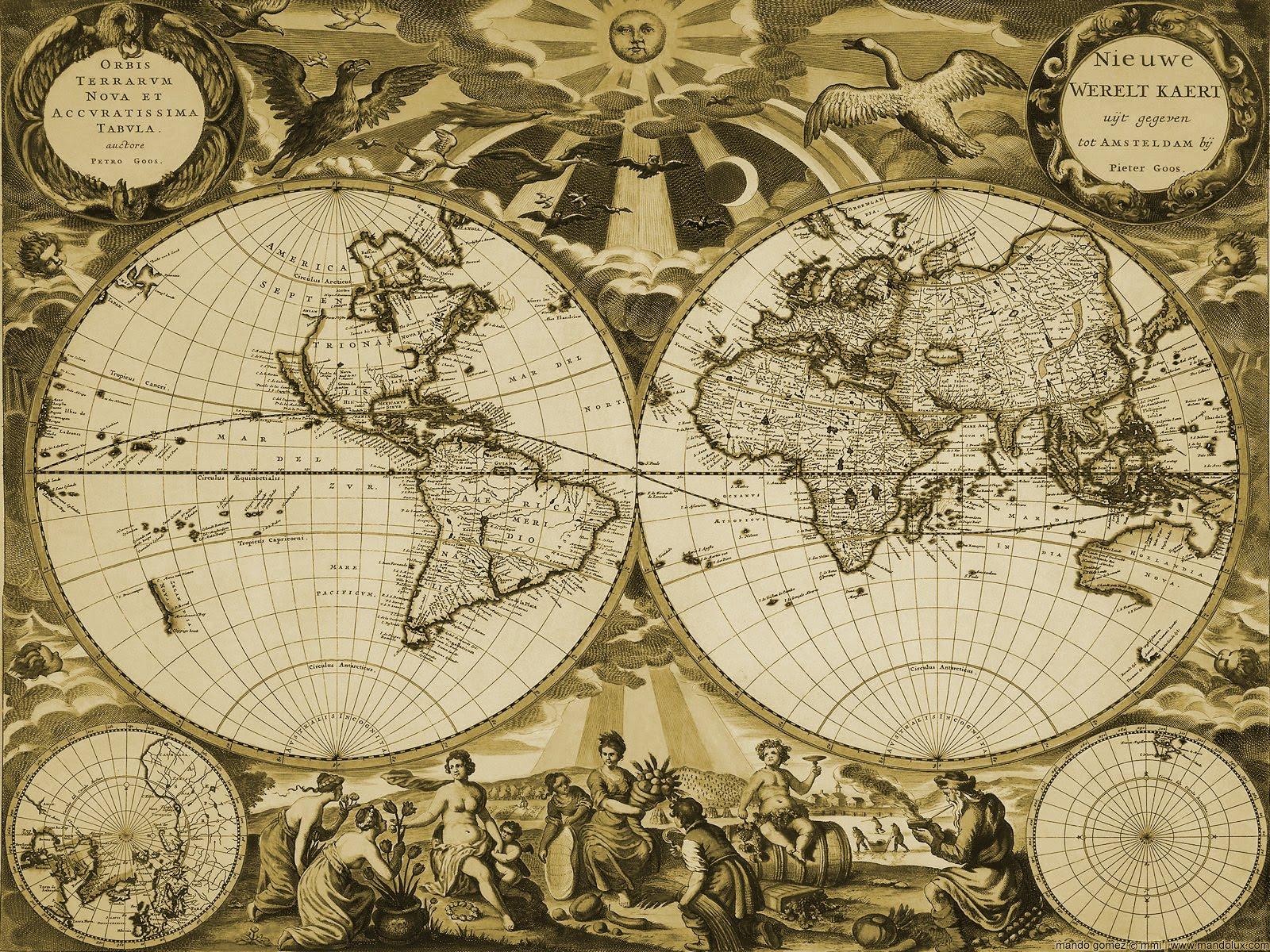 Map Wallpapers: December 2011
