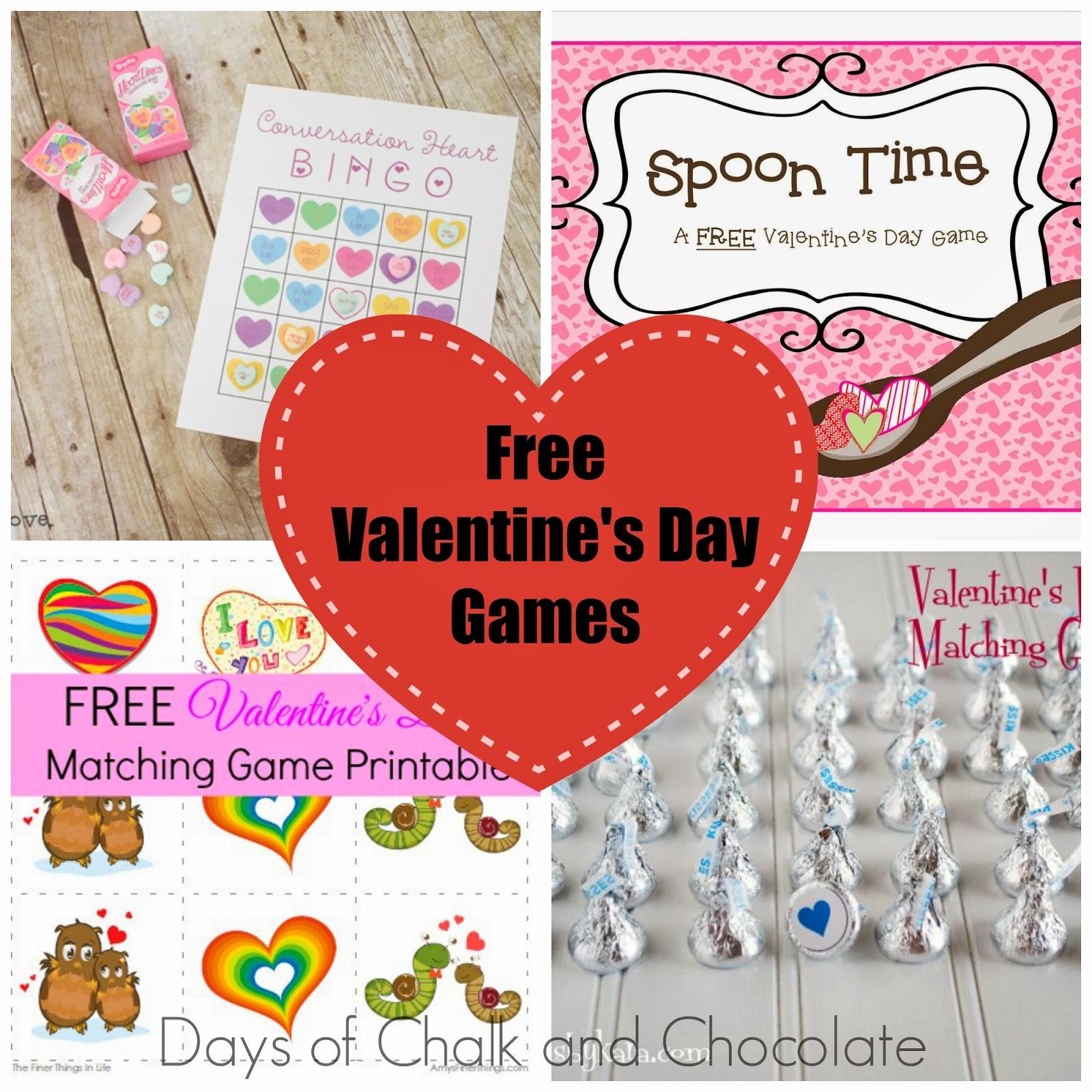 Valentine S Day Games Free Printables