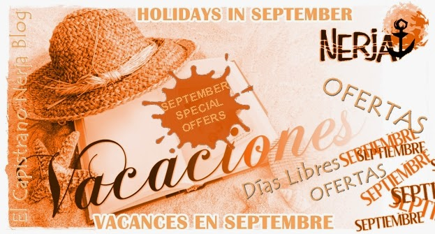 Vacaciones de septiembre en Nerja al mejor precio con la promocion dias libres de El Capistrano