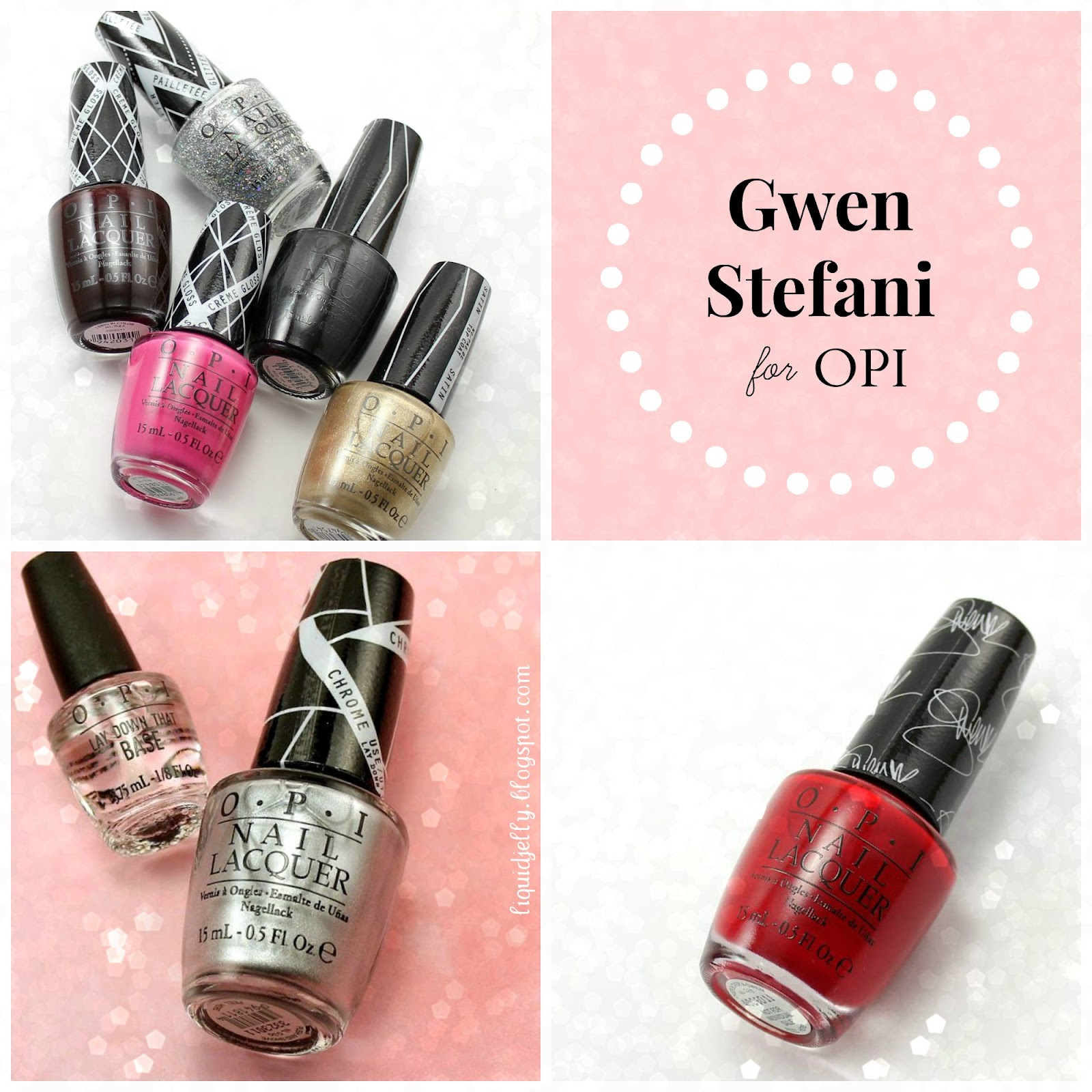 Liquid Jelly: [Review+Swatch] OPI Gwen Stefani Collection