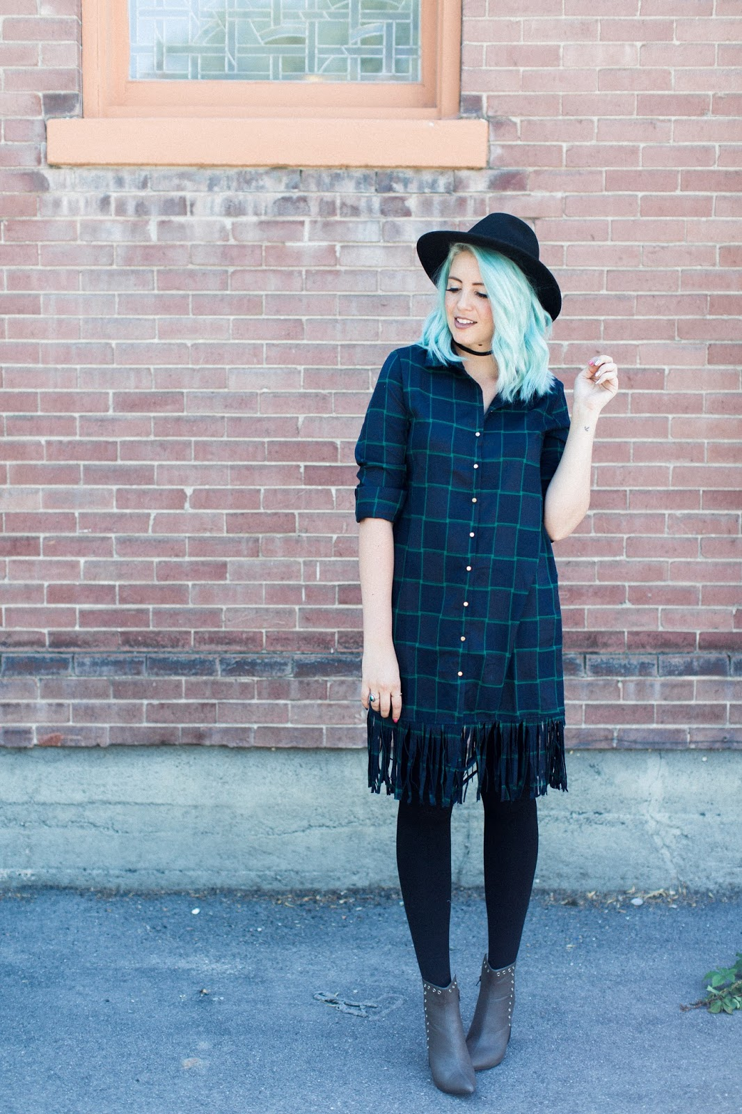 Plaid, Fringe, The Red Closet Shop