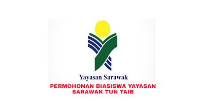 Permohonan Biasiswa Yayasan Sarawak Tun Taib 2019 Online