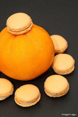 Macarons ai fiori d'arancio