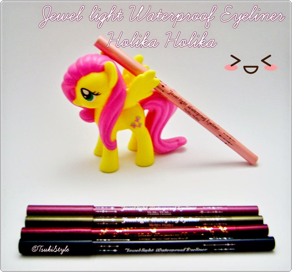 jewel light waterproof eyeliner holika holika