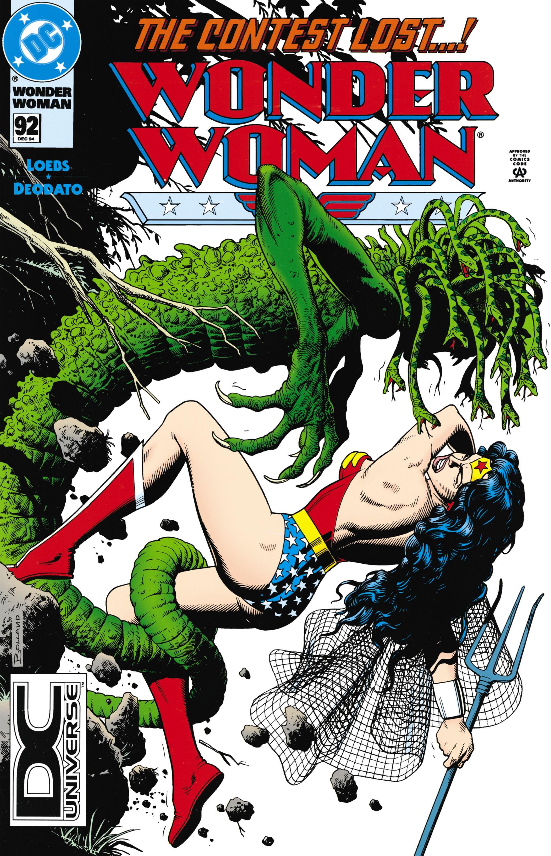 Read online Wonder Woman (1987) comic -  Issue #92 - 1