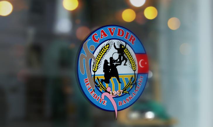 Burdur Çavdır Belediyesi Vektörel Logosu