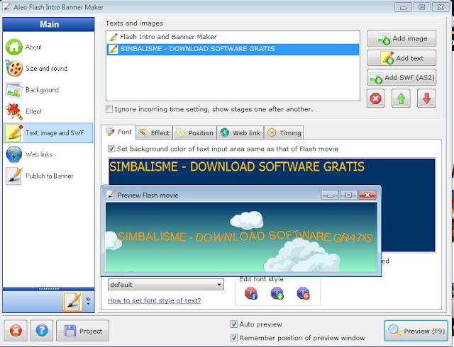 Download Aleo Flash Intro Banner Maker 4.0 Full Version