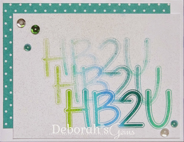 HB2U Sandie - photo by Deborah Frings - Deborah's Gems