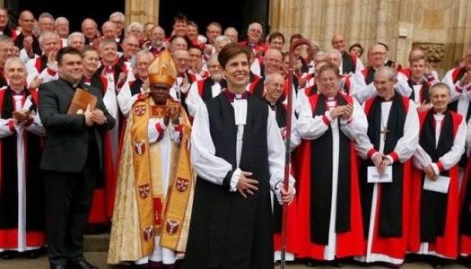Primera mujer obispo de la Iglesia Anglicana