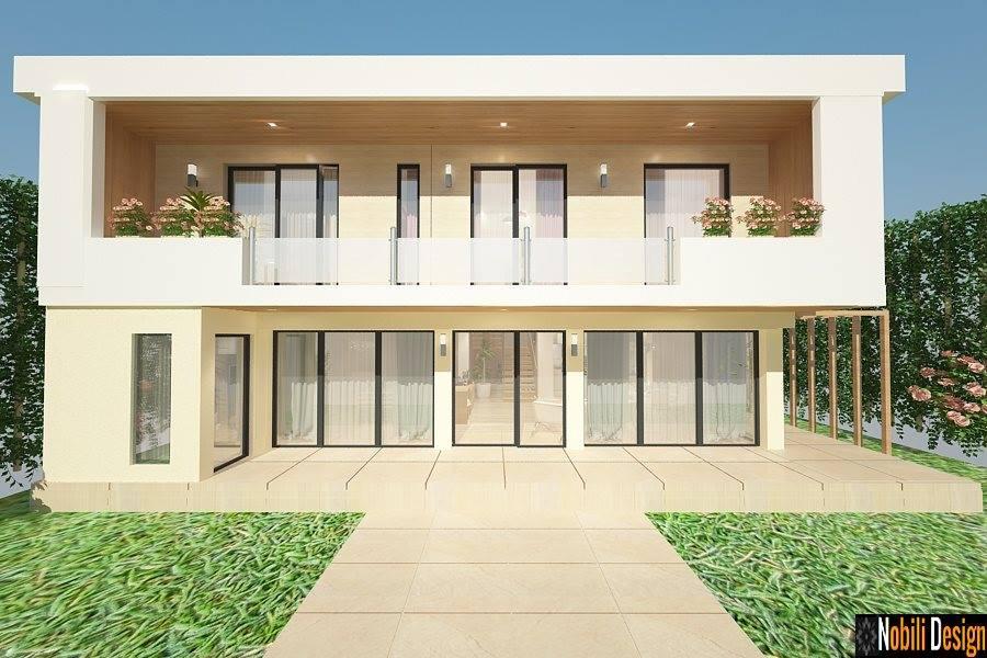 Design exterior - casa - moderna- Bucuresti | Proiect de casa la cheie - Bucuresti