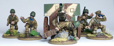 28mm 1/56 Polish Medium Howitzer