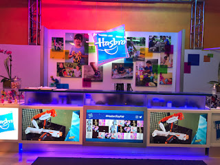 Hasbro's Information Booth at the 2017 New York Toy Fair