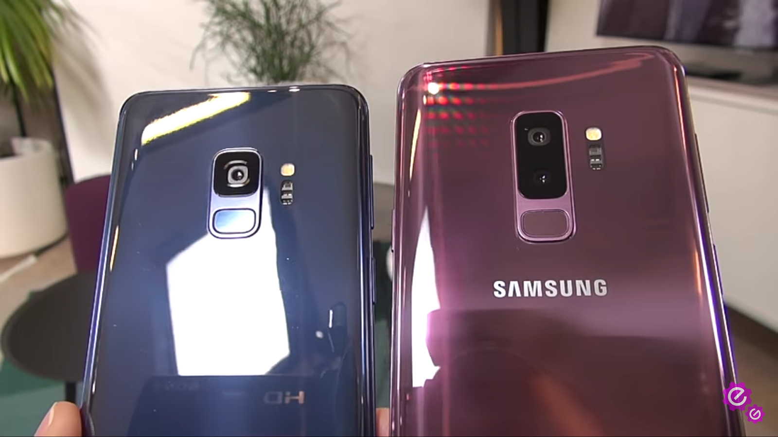 Samsung galaxy s9 fingerprint reader placements
