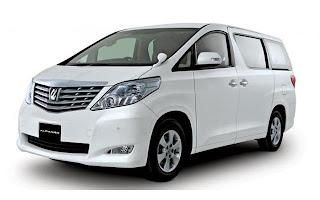 Rental Mobil Makassar Alphard