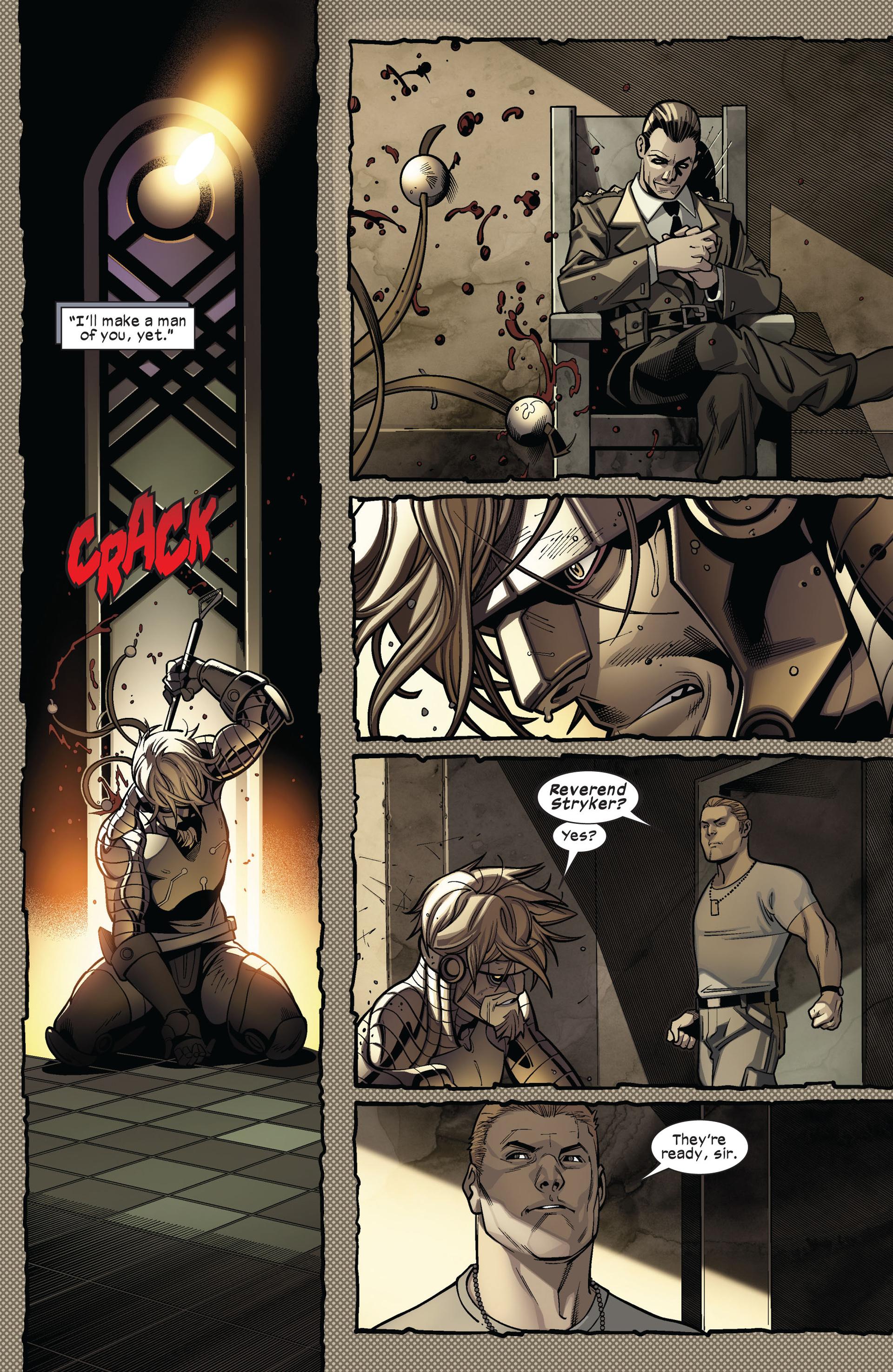 Read online Ultimate Comics X-Men comic -  Issue #4 - 8
