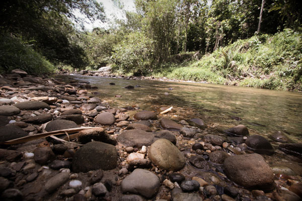 River Annah Rais longhouse