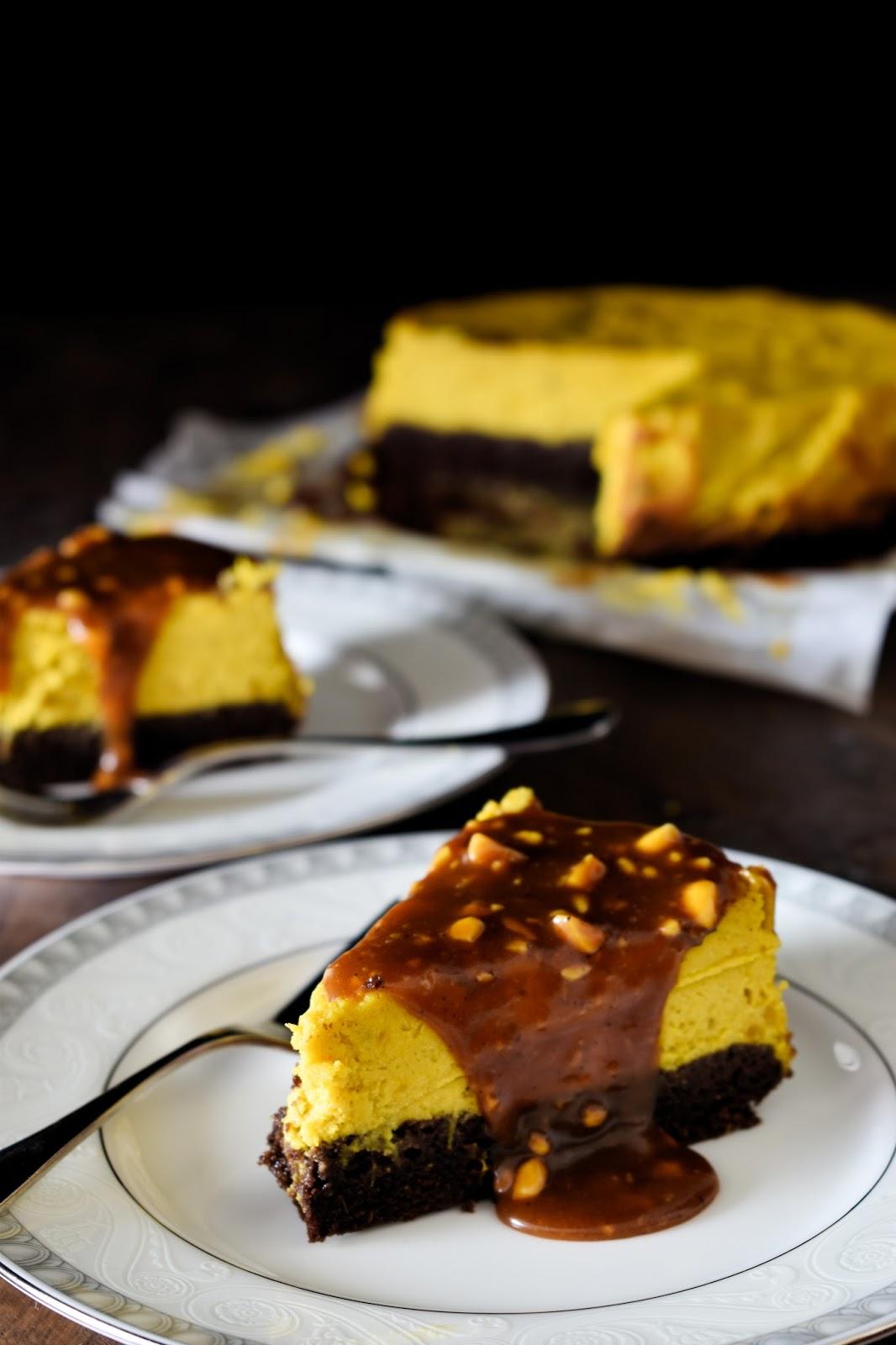 Cheesecake speziata alla zucca