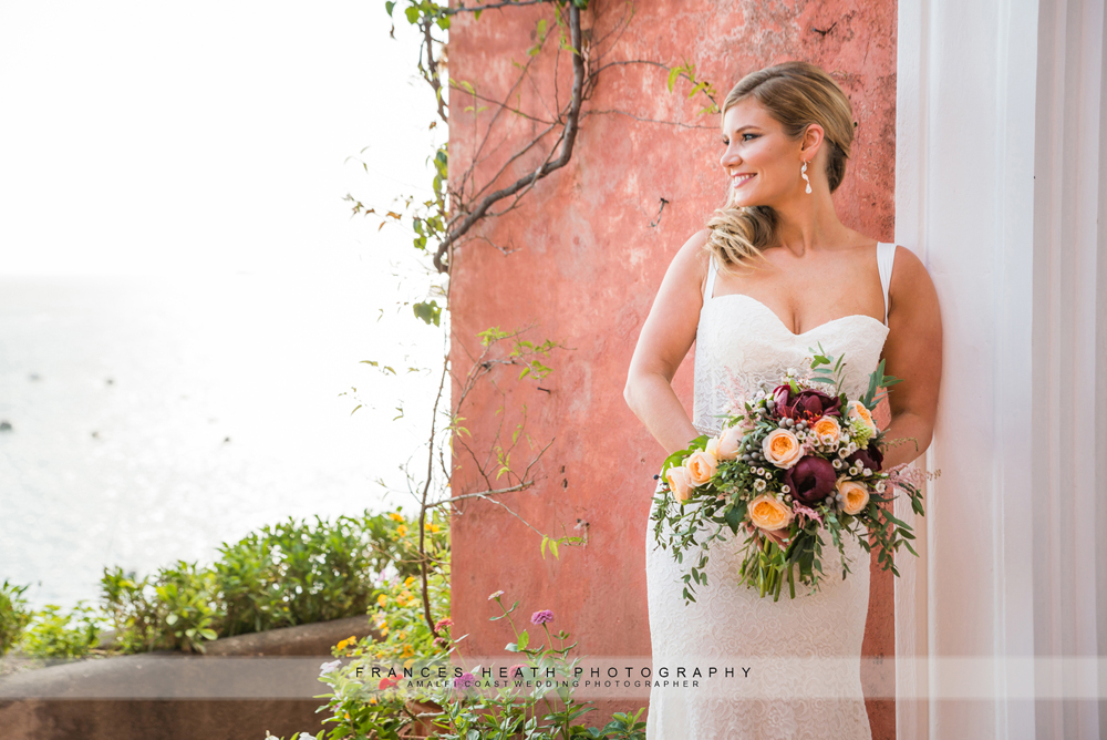 Bride at Villa Hotel Marincanto