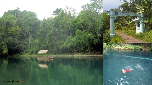 Wisata alam Situ Cipanten