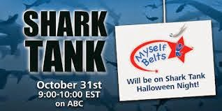 Belts for small children seen Halloween night on Shark Tank