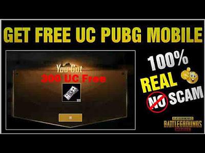 PUBG Mobile Bedava 300 UC [%100 Çalışıyor]