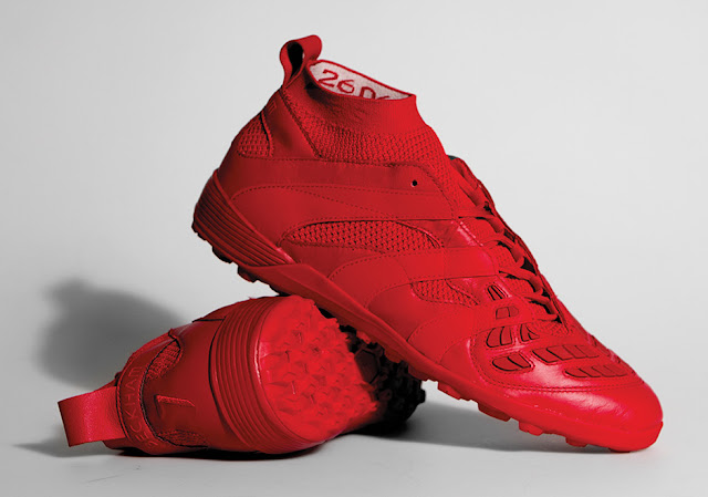 David Beckham x Adidas Soccer Capsule Collection Red
