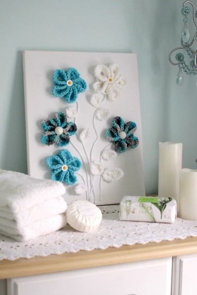 Trend Pretty crochet flowers for all kinds of projects Wall art or embellishing hats beanies