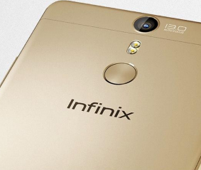 infinix hot s fingerprint sensor