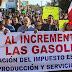 Continuarán las marchas contra el ¡gasolinazo!