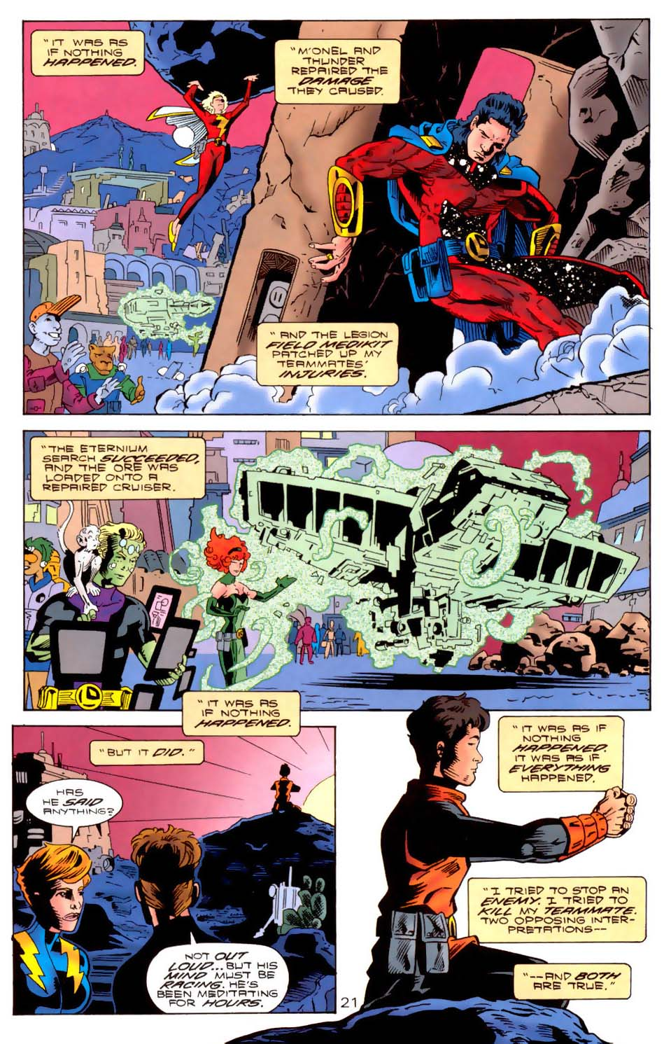 Legion of Super-Heroes (1989) 111 Page 21