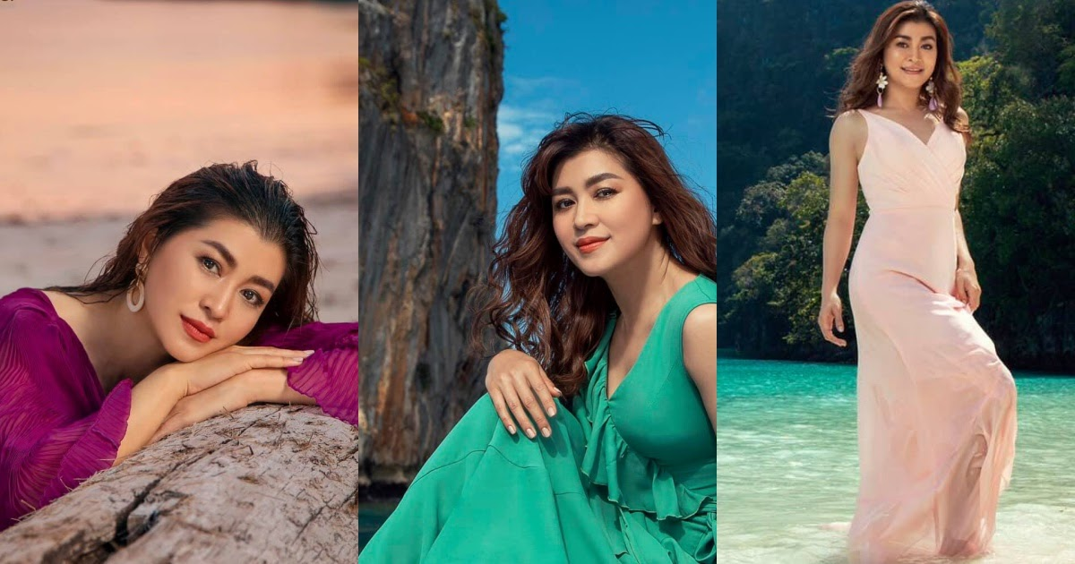 Eaindra Kyaw Zin Mna Inflight Magazine Photoshoot